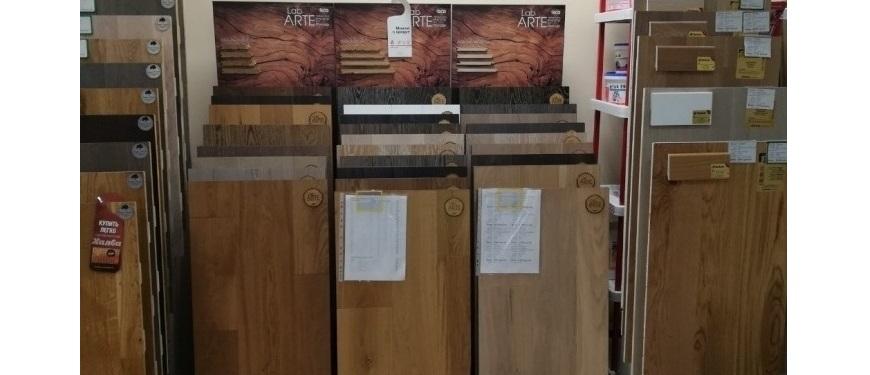 Инженерная доска Lab Arte (Лаб Арте) Дуб Кантри 400-1500x125x15,5 мм без покрытия